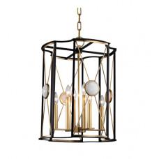 Cresson 8 Light 19 inch Aged Brass Pendant Ceiling Light