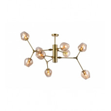 Canada 9 Light 46 inch Gold Chandelier Ceiling Light