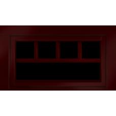 CUSTOM WOOD AWNING WINDOW