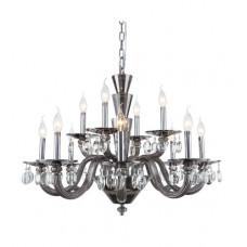 Augusta 12 Light 32 inch Silver Shade Chandelier Ceiling Light, Urban Classic