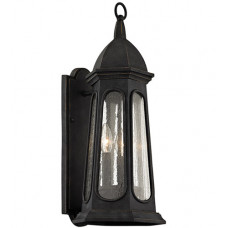 Astor 3 Light 22 inch Vintage Iron Outdoor Wall Sconce