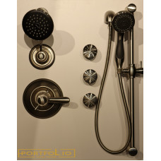Delta Lahara Shower Kit With Jets