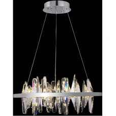 Canada LED 24 inch Chrome Chandelier Ceiling Light