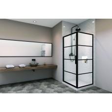 Zitta Materia 48'' Shower Door With 42'' Return Panel