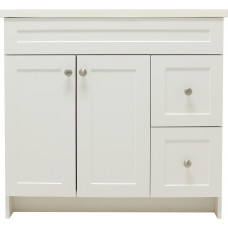 37 Inch Elegance Transitional Vanity