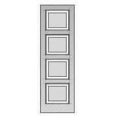 4-Equal Panel Door