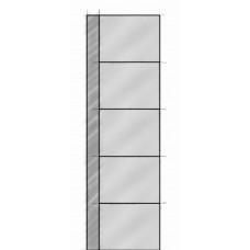 5-Panel Asymmetric