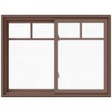 DF VINYL DOUBLE SLIDING WINDOW