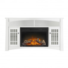 The Adele Electric Fireplace Entertainment Package