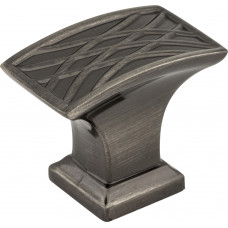 Aberdeen Rectangle Lined Cabinet Knob